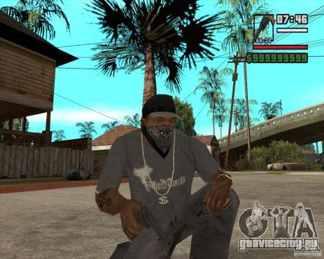 Call of Juarez Bound in Blood Weapon Pack для GTA San Andreas второй скриншот