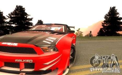 Ford Mustang Shelby GT500 V1.0 для GTA San Andreas вид сбоку