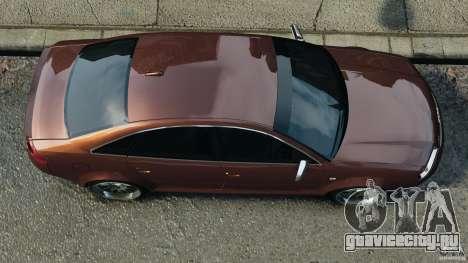 Audi RS6 2003 для GTA 4 вид справа