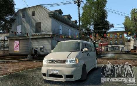 Volkswagen Transporter T4 для GTA 4