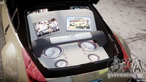 Nissan 350Z Veilside Tuning для GTA 4 вид сверху