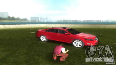 Ford Taurus для GTA Vice City вид справа