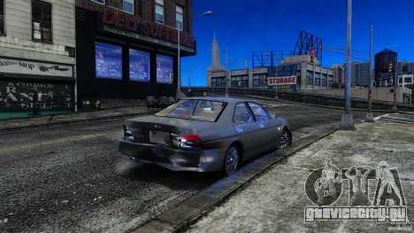 Nissan Laurel GC35 для GTA 4 вид изнутри