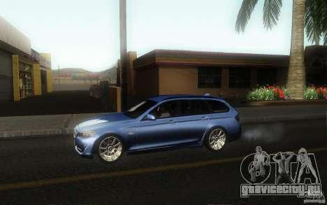 BMW F11 530d Touring для GTA San Andreas вид слева