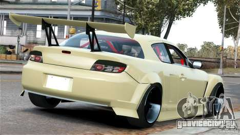 Mazda RX-8 Mad Mike для GTA 4 вид справа