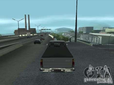 Nissan Pick-up D21 для GTA San Andreas вид справа