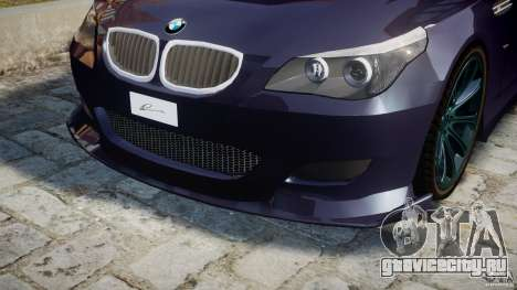 BMW M5 Lumma Tuning [BETA] для GTA 4 двигатель