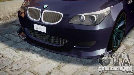 BMW M5 Lumma Tuning [BETA] для GTA 4 двигатель