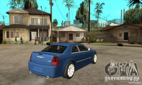 Chrysler 300C SRT 8 2008 для GTA San Andreas вид справа