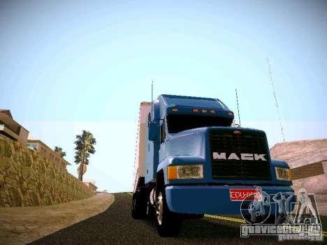 Mack СН-613 для GTA San Andreas вид сзади слева