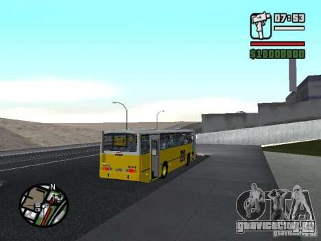 Ciferal GLS Volvo B10M для GTA San Andreas вид справа