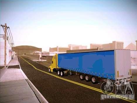 Freightliner Century Classic для GTA San Andreas вид сзади слева