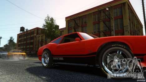Sabre GT II Vinyl Roof для GTA 4 вид справа