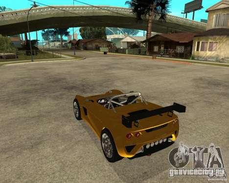 Lotus 2-Eleven для GTA San Andreas вид слева