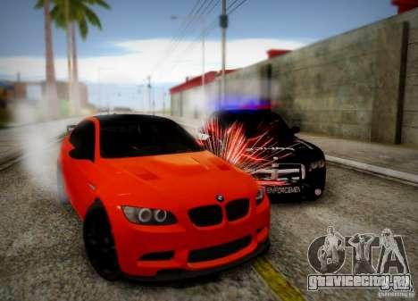 BMW M3 GT-S для GTA San Andreas вид сверху