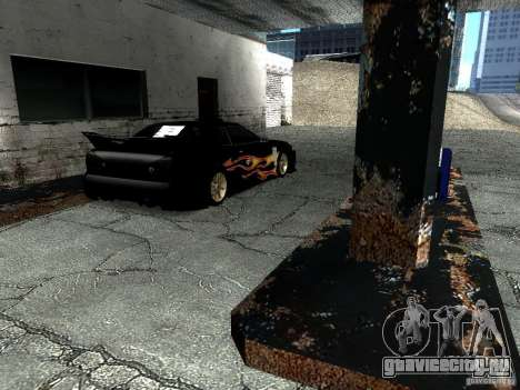 Винил Рэйзора из Most Wanted для GTA San Andreas вид сзади слева