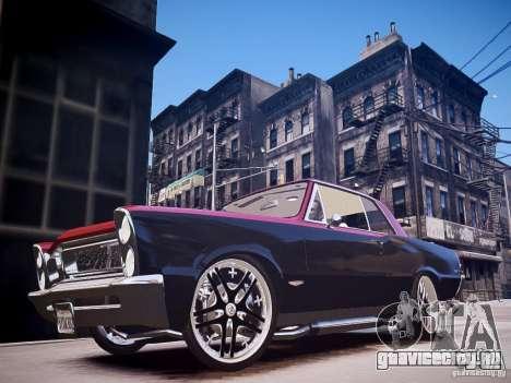 Pontiac GTO 1965 Custom discks pack 3 для GTA 4