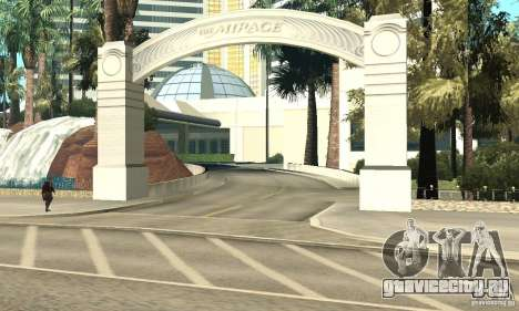 Welcome to Las Vegas для GTA San Andreas пятый скриншот