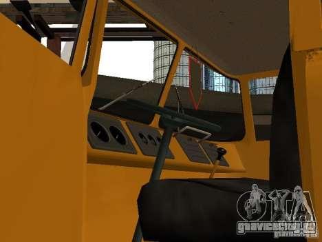КАЗ 608 для GTA San Andreas вид сзади