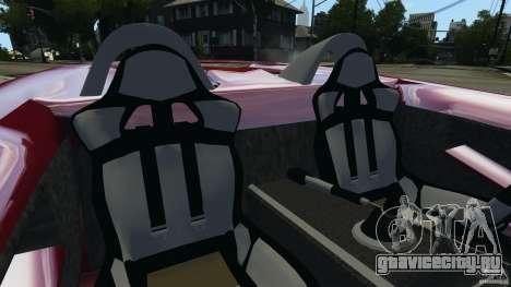 K-1 Attack Roadster v2.0 для GTA 4 вид изнутри