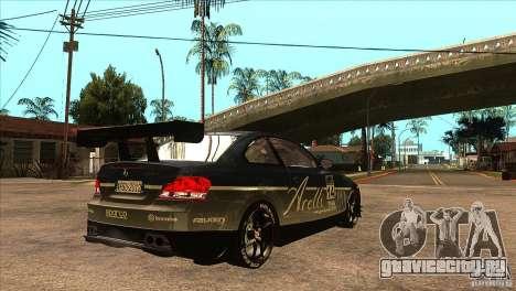 BMW 135i Coupe GP Edition Skin 3 для GTA San Andreas вид справа