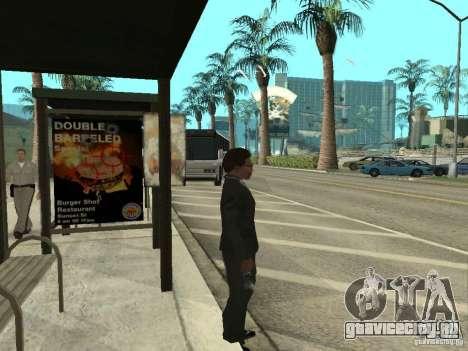 Автобусная линия в Лас Вентурас для GTA San Andreas четвёртый скриншот
