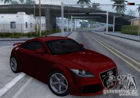 Audi TT-RS Coupe для GTA San Andreas вид слева