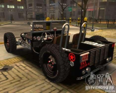 Willys Hot-Rod для GTA 4 вид слева