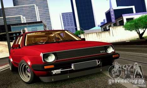 Volkswagen Golf MkII Racing для GTA San Andreas