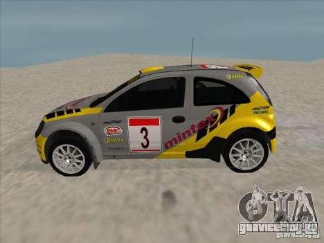Opel Rally Car для GTA San Andreas вид слева