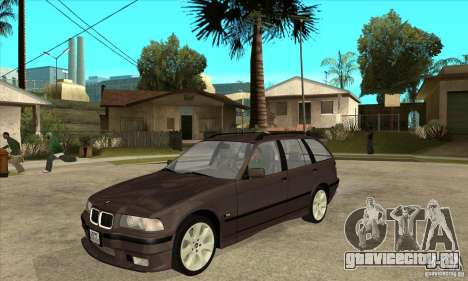 BMW 318i Touring для GTA San Andreas вид слева