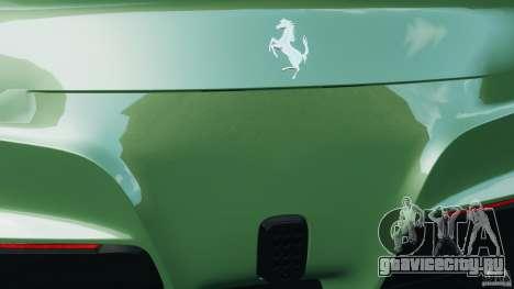 Ferrari F12 Berlinetta 2013 [EPM] для GTA 4 двигатель