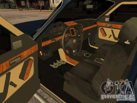 HD Columb для GTA San Andreas вид сзади слева
