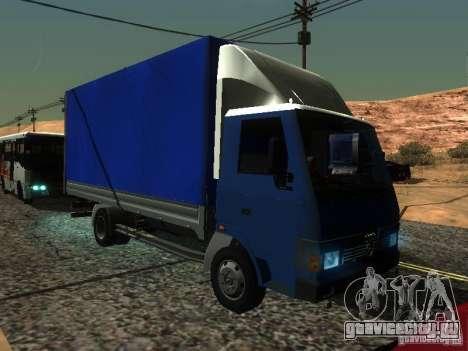 БАЗ Т-713 для GTA San Andreas вид сзади