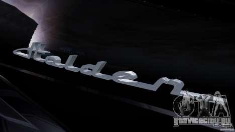 Holden Efijy Concept для GTA 4 вид сзади