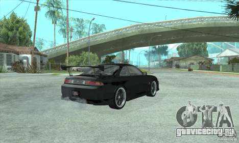 NISSAN SILVIA S14 CHARGESPEED FROM JUICED 2 для GTA San Andreas вид сзади слева