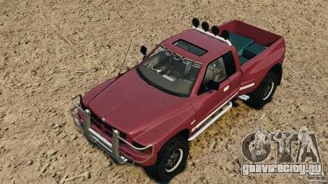 Dodge Ram 2500 Army 1994 v1.1 для GTA 4 вид снизу