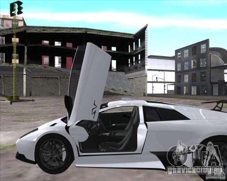 Lamborghini Murcielago LP670-4 SV для GTA San Andreas вид справа