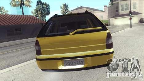 Fiat Palio Weekend 1997 для GTA San Andreas вид слева