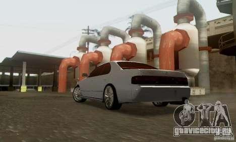 Toyota Cresta JZX90 для GTA San Andreas вид снизу
