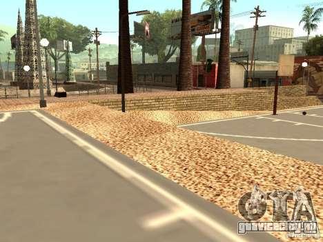 Новая баскетбольная площадка в Лос Сантосе для GTA San Andreas четвёртый скриншот