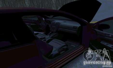 Volkswagen Golf V JDM Style для GTA San Andreas вид сзади