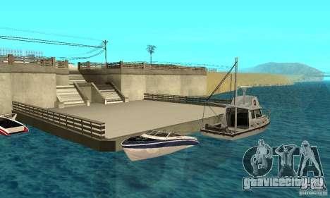 GTAIV Tropic для GTA San Andreas двигатель