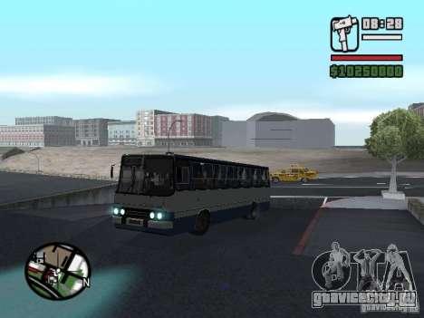 Ikarus 260.27 для GTA San Andreas вид сзади слева