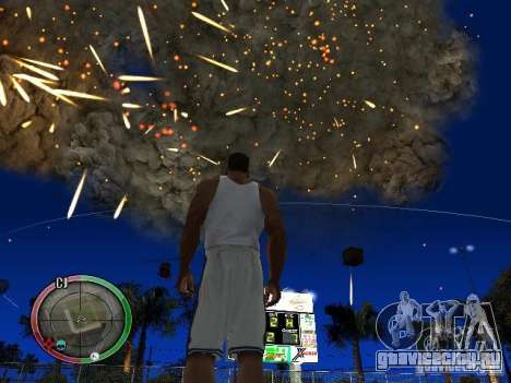 RAIN OF BOXES для GTA San Andreas седьмой скриншот