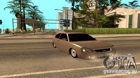 ВАЗ 2172 Приора для GTA San Andreas вид сбоку