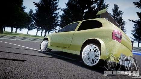 Chevrolet Corsa Extreme Revolution для GTA 4 вид сбоку