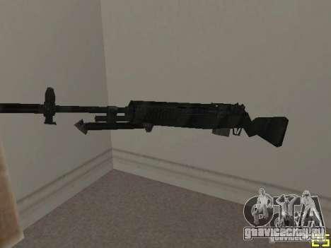 Оружие из COD MW 2 для GTA San Andreas второй скриншот