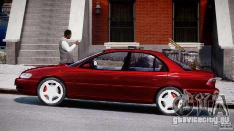 Opel Omega 1996 V2.0 First Public для GTA 4 вид слева