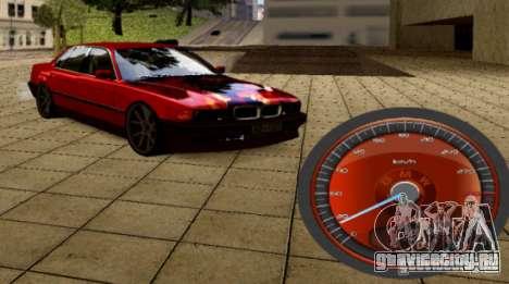 Спидометр BMW для GTA San Andreas второй скриншот